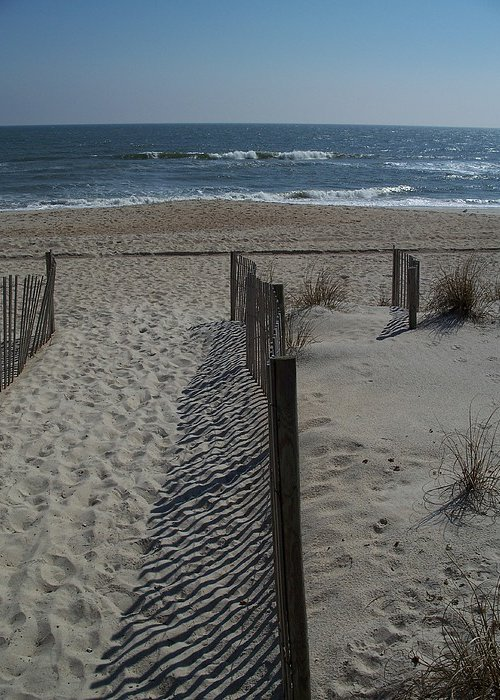 Beach Greeting Card featuring the photograph Wrightsville Beach by Janet Pugh