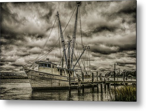 Storm Metal Print featuring the photograph The Storm by Steven Taylor