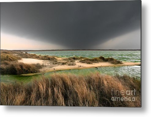 Outer Banks Metal Print featuring the photograph A Storm A Coming - Outer Banks I by Dan Carmichael