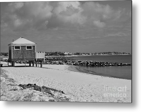 Cape Cod Massachusetts Metal Print featuring the photograph Cape Cod Winter Morning by Catherine Reusch Daley