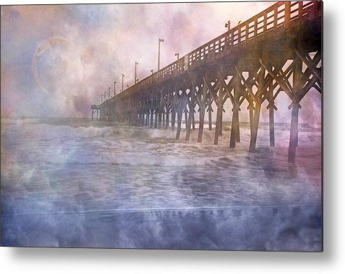 Topsail Metal Print featuring the photograph Mystical Morning by Betsy C Knapp