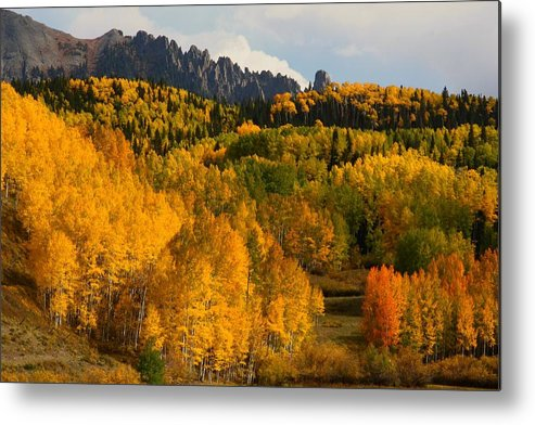 San Metal Print featuring the photograph San Juan Mountains In Autumn by Jetson Nguyen