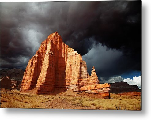 Capitol Reef National Park Metal Print featuring the photograph Capitol Reef National Park by Mark Smith