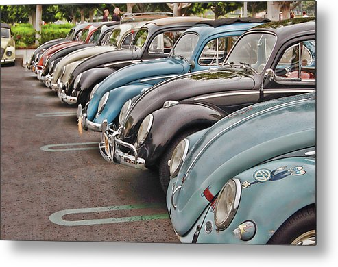 Vw Metal Print featuring the photograph Bugs by Bill Dutting