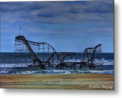 Nj Metal Print featuring the photograph Final Farewell by Michelle Nixon