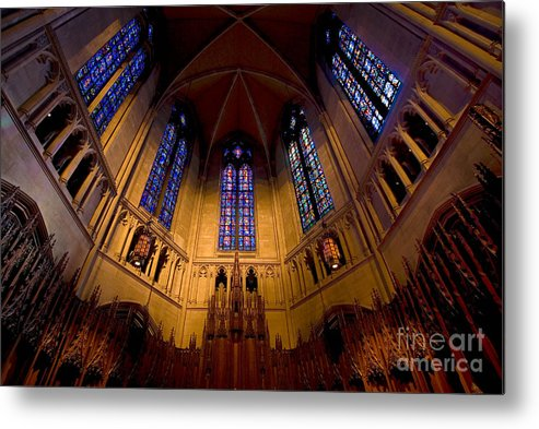 Allegheny County Metal Print featuring the photograph Heinz Memorial Chapel Pittsburgh Pennsylvania by Amy Cicconi