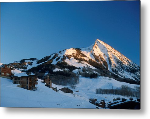 Crested Butte Metal Print featuring the photograph The Crested Butte by Jerry McElroy