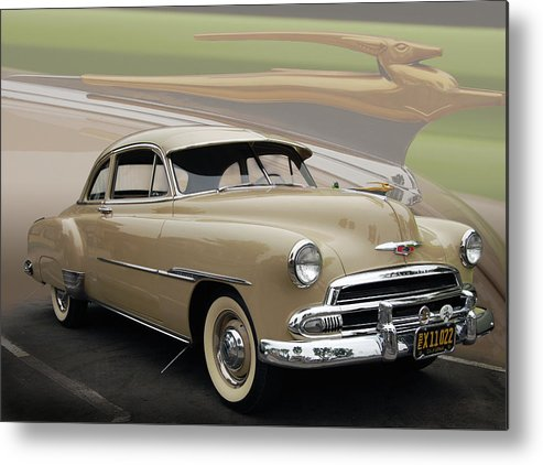 51 Metal Print featuring the photograph 51 Chevrolet Deluxe by Bill Dutting