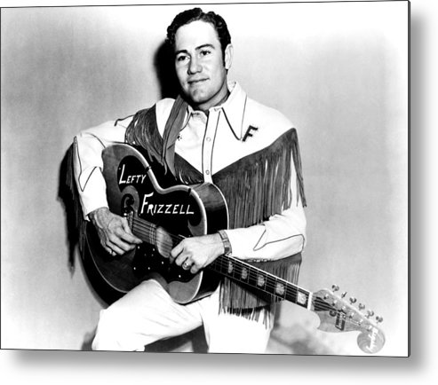 1950s Portraits Metal Print featuring the photograph Lefty Frizzell, 1950s by Everett