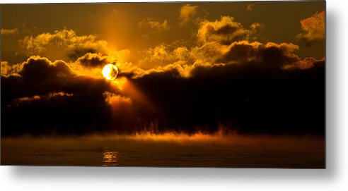 Horizons Metal Print featuring the photograph Zero Degree Steam by Phil Koch