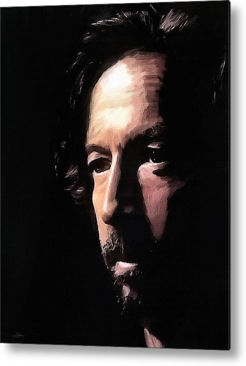 Eric Clapton Metal Print featuring the digital art Journeyman by Peter Chilelli