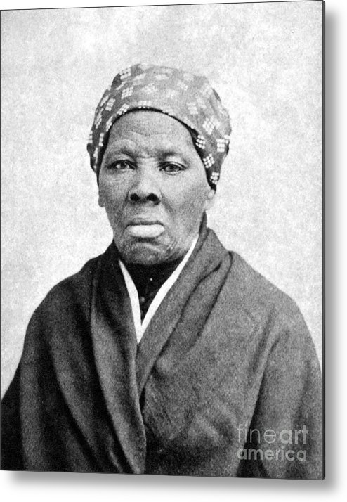 1895 Metal Print featuring the photograph Harriet Tubman (1823-1913) by Granger