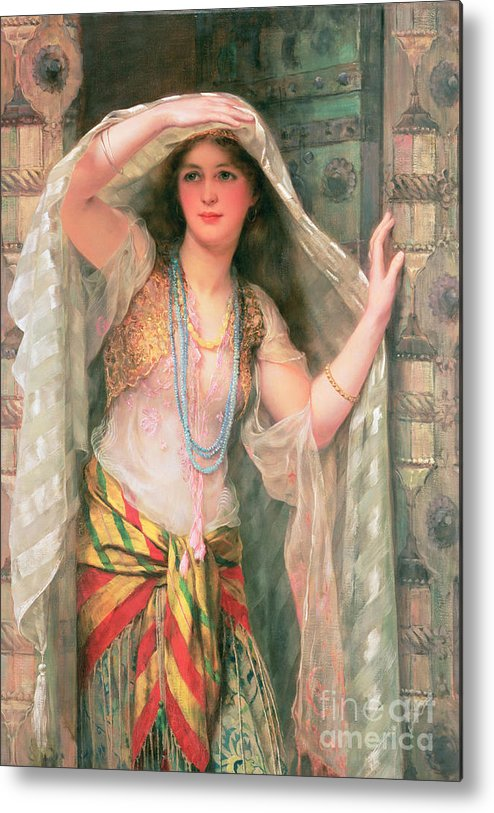 Safie Metal Print featuring the painting Safie by William Clark Wontner