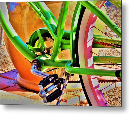 Beach Cruiser Metal Print featuring the photograph Beach Cruiser by Helen Carson