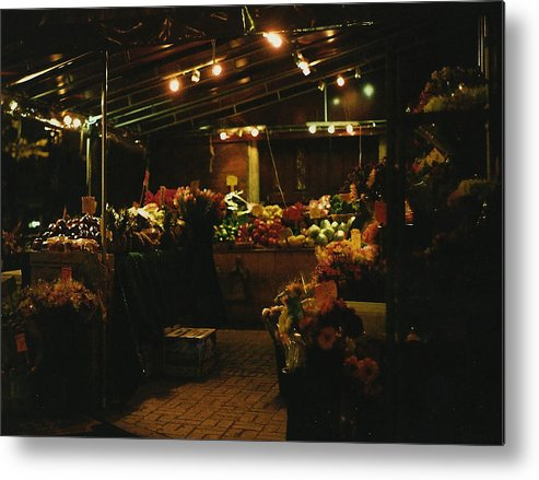 Photograph Metal Print featuring the photograph Under The Lights by Brian Nogueira