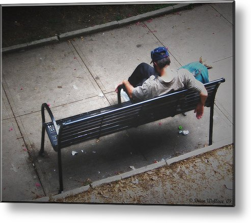 2d Metal Print featuring the photograph Hot And Homeless by Brian Wallace