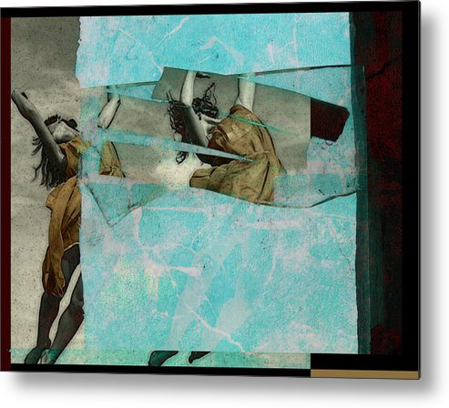 Figurative Metal Print featuring the photograph Break The Sky by Adam Kissel