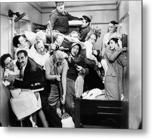 1935 Metal Print featuring the photograph The Marx Brothers, 1935 by Granger
