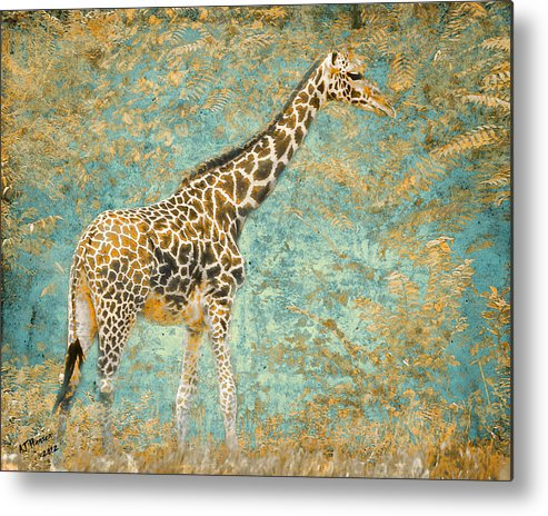 Pittsburgh Zoo Metal Print featuring the photograph Reticulated by Arne Hansen