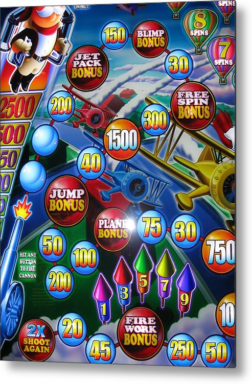 Metal Print featuring the photograph Pinball Wizard-the Signs Of The Times Collection by Signs Of The Times
