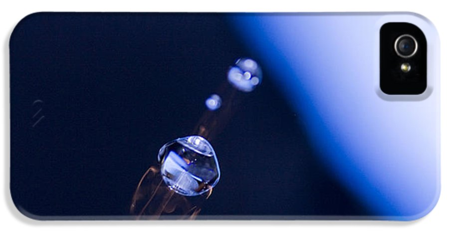 Macro IPhone 5 / 5s Case featuring the photograph Rocket by Rebecca Cozart