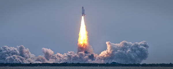 Sts-135 Poster featuring the photograph The Final Voyage by Ryan Heffron