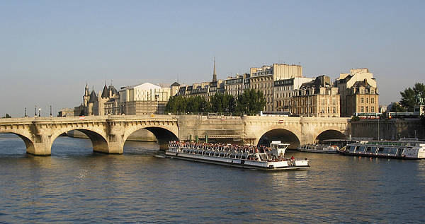 And Poster featuring the photograph Le Pont Neuf. Paris. by Bernard Jaubert