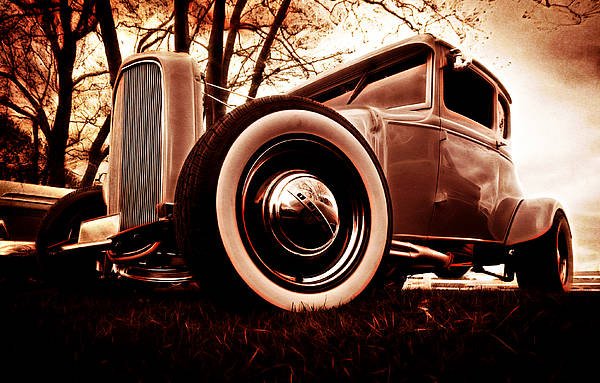 Street Rod Poster featuring the photograph 1930 Ford Model A by Phil 'motography' Clark
