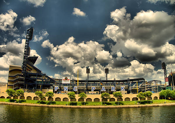 Baseball Poster featuring the photograph Pnc Park by Arthur Herold Jr