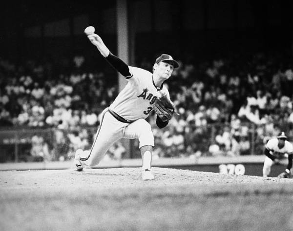 1973 Poster featuring the photograph Nolan Ryan (1947- ) by Granger
