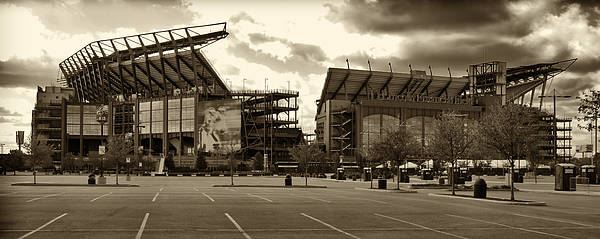 Link Poster featuring the photograph Lincoln Financial Field by Jack Paolini