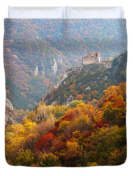 King's Fortress Duvet Cover by Evgeni Dinev