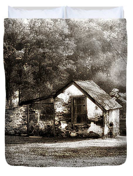 Narcissa Road Springhouse Duvet Cover by Bill Cannon