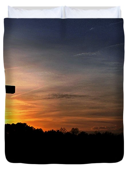 The Heavens Declare The Glory Of God Duvet Cover by Benanne Stiens