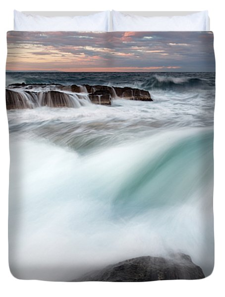 The Wave Duvet Cover by Evgeni Dinev
