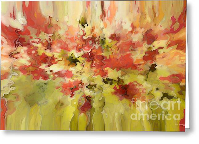 Separation Paintings Greeting Cards - Secret Separation Greeting Card by Mark Lawrence