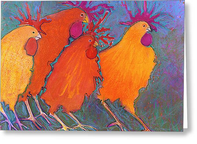 Best Seller Pastels Greeting Cards - Making a Break For It Greeting Card by Jane Wilcoxson