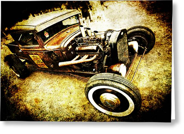 Motography Photographs Greeting Cards - Rusty Rod Greeting Card by Phil