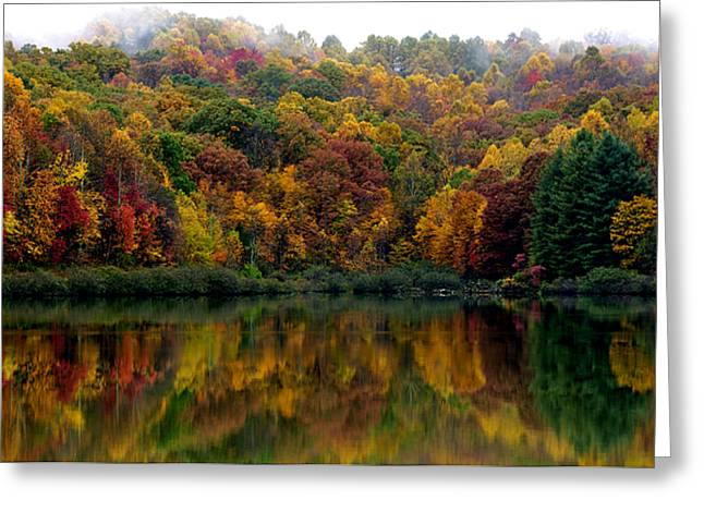 Allegheny Greeting Cards - Autumn Big Ditch Lake Greeting Card by Thomas R Fletcher