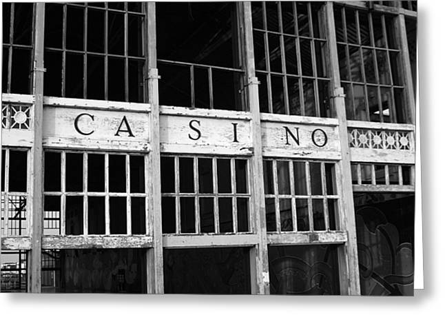 Asbury Park Casino Greeting Cards - Back in the day Greeting Card by Jeff Bord