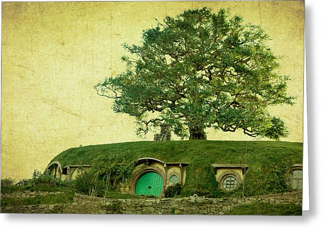 Lord Of The Rings Greeting Cards - Bagend Homes Greeting Card by Linde Townsend