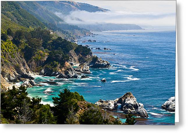 Big Sur California Greeting Cards - Big Sur California Coast Greeting Card by About Light  Images