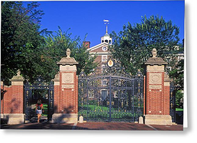 Brown University Greeting Card by John Greim