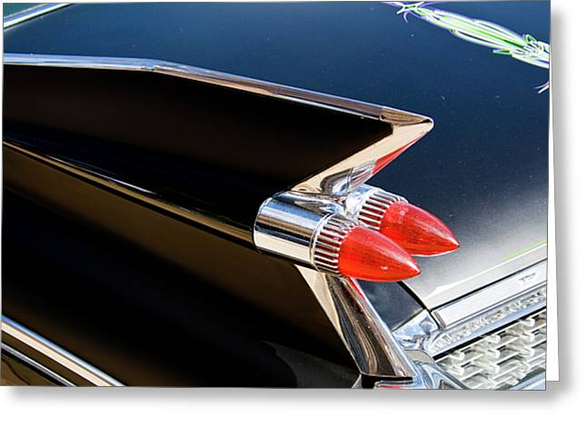 Caddy Fin Greeting Card by Terry Thomas