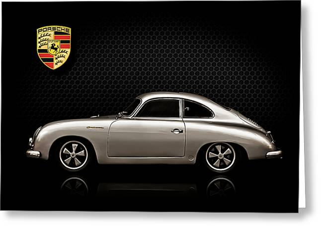 Sportscar Greeting Cards - Caliber 356 Greeting Card by Douglas Pittman
