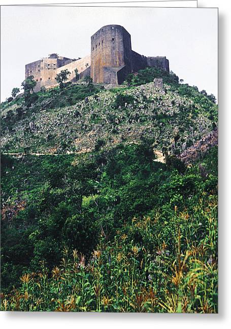 Citadelle Of Henry Christophe Greeting Card by Johnny Sandaire