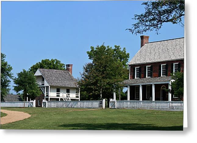 Richmond-lynchburg Stage Road Greeting Cards - Clover Hill Tavern Appomattox Court House Virginia Greeting Card by Teresa Mucha