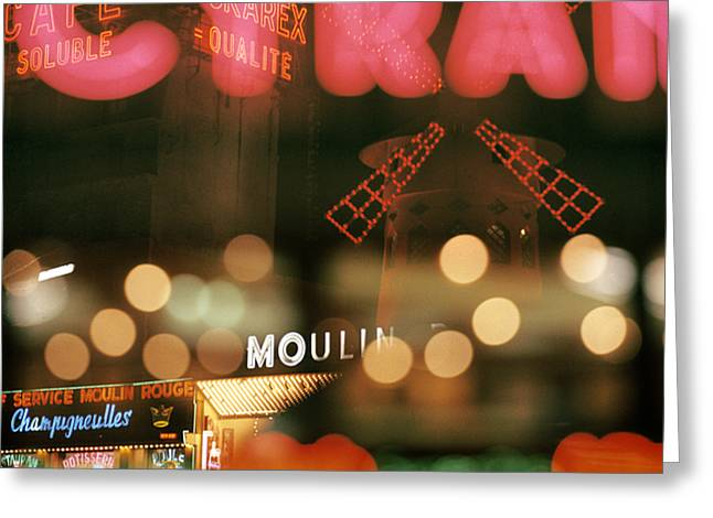 Paris In Lights Greeting Cards - Cyrano Greeting Card by Hans Mauli