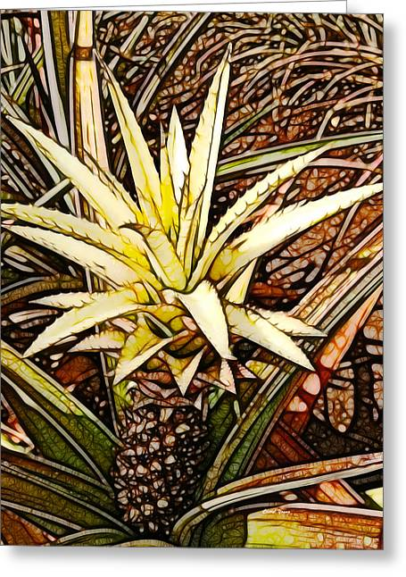 Dole 2 Greeting Card by Cheryl Young