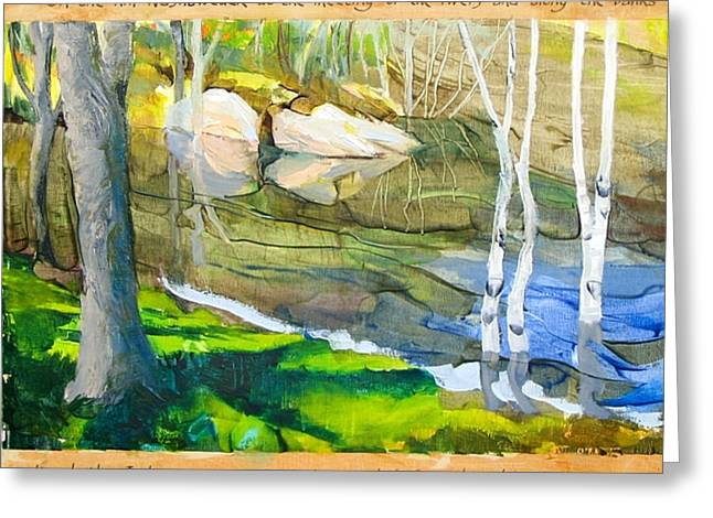 Concord Ma. Greeting Cards - Egg Rock Greeting Card by Michael Cunliffe Thompson